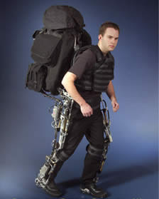 Berkeley Lower Extremity Exoskeleton (BLEEX) - New Inventions
