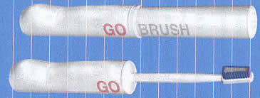 The New invention - GoBrush - It is non-mechanical and totally disposable.